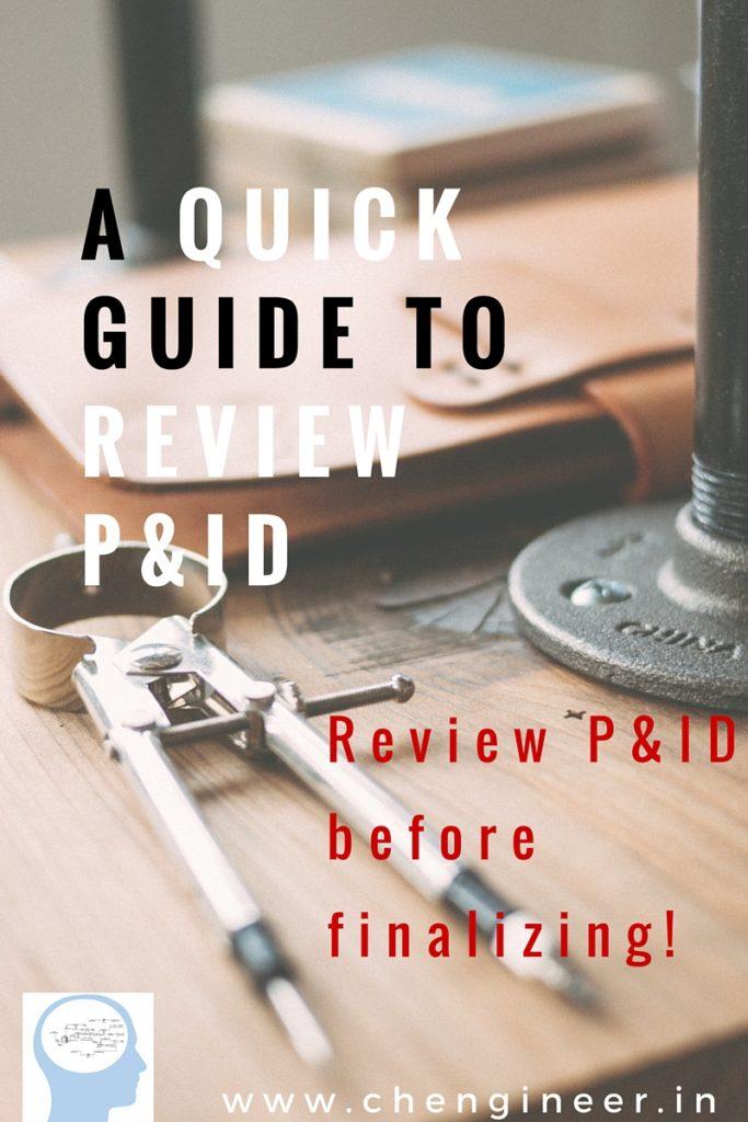Review P&ID checklist