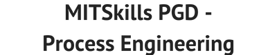 MITSkills Process Engineering